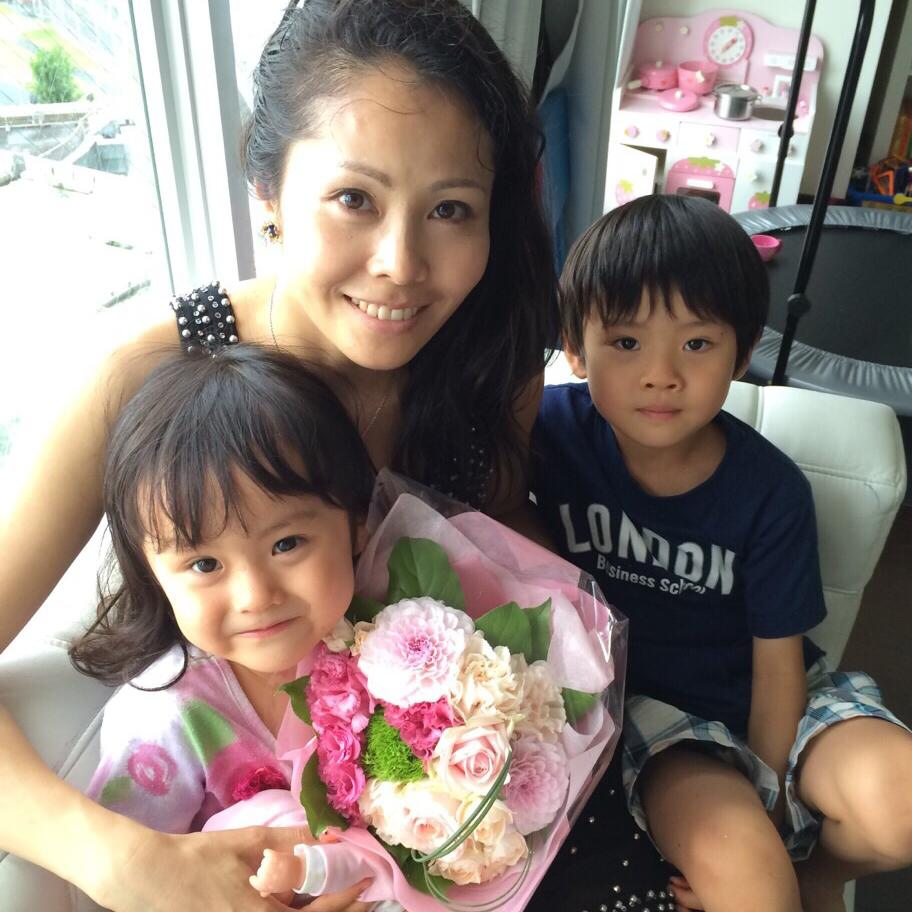 Iku and her kids