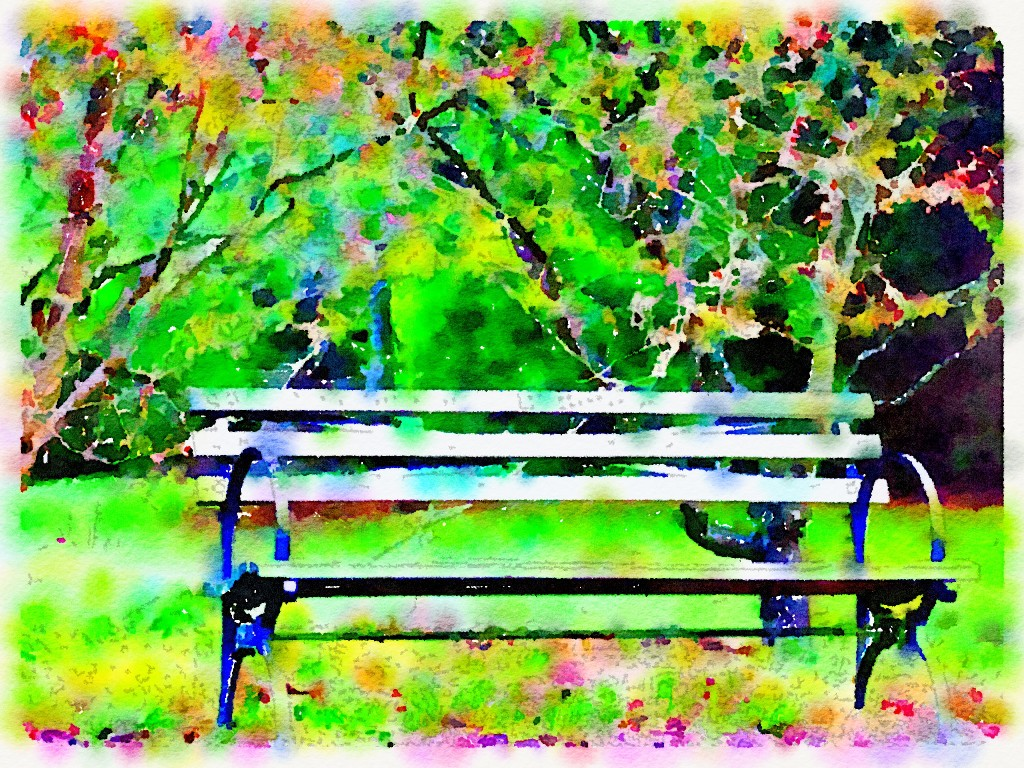 "Waterlogue 1.1.4 (1.1.4) Preset Style = Bold Format = 10"" (Giant) Format Margin = Small Format Border = Sm. Rounded Drawing = #2 Pencil Drawing Weight = Heavy Drawing Detail = Medium Paint = High Contrast Paint Lightness = Lighter Paint Intensity = More Water = Tap Water Water Edges = Blurry Water Bleed = Average Brush = Fine Detail Brush Focus = Everything Brush Spacing = Medium Paper = Watercolor Paper Texture = Medium Paper Shading = Medium Options Faces = Enhance Faces"